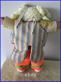 1983 Cabbage Patch Circus Kids Blonde Hair Girl Doll Circus Clown