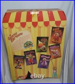1985 Original Cabbage Patch Circus Kids Black Clown Monaco Brant Mask Poster