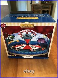 2006 LEMAX Village Collection CARNIVAL MIDWAY KIDDIE CRUISE WORKS GREAT Orig Box