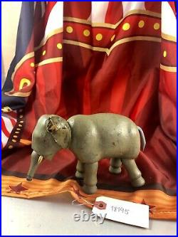 6 Antique American Composition Schoenhut Circus Elephant Doll! Rare! 18195