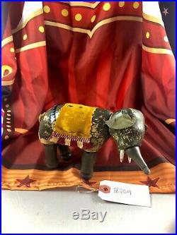 6 Antique American Composition Schoenhut Circus Elephant Doll! Rare! 18209