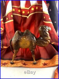 7.5 Antique American Composition Schoenhut Circus Camel Doll! Rare! 18186