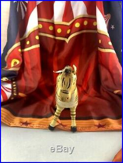 8.5 Antique American Composition Schoenhut Circus Zebra Doll! Rare! 18178