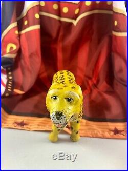 8 Antique American Composition Schoenhut Circus Leopard Doll! Rare! 18179