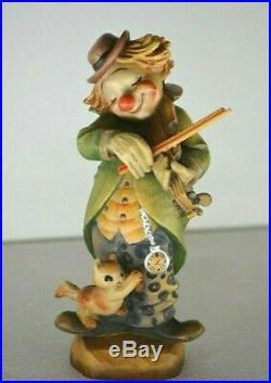 ANRI 6 Wood Carving figurine Circus Serenade by Juan Ferrandiz VINTAGE RARE