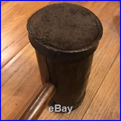 ANTIQUE 32 Carnival Circus STRONG MAN Wood/Steel HAMMER Mallet Midway DECOR
