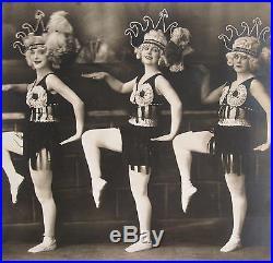 Antique Acrobat Circus Vaudeville Ny Nyc Like Pre Flapper Era Blonde Lrg Photo