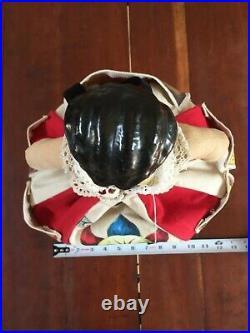 Antique China head doll circus memorabilia freak show banners oddities clown AHS