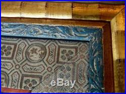 Antique Chinese Silk Figural Forbidden Stitch Embroidery Imperial Circus Framed
