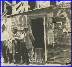 Antique Circus New Orleans Minstrel Rodeo Poster Stag Tobacco Old Rppc Photo