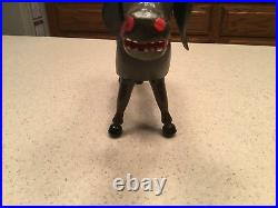 Antique Schoenhut Circus Donkey Intact Nice 6 Tall Painted Eyes Leather Ears