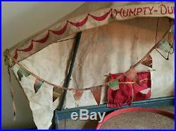 Antique Schoenhut Humpty Dumpty Circus Tent Full Size