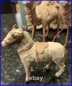 Antique Toy Circus Wagon & Animals Made in Germany