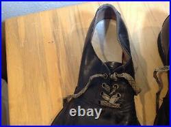 Antique Vintage Authentic Original Collectible Circus Cats Paw Clown Shoes Sz 10