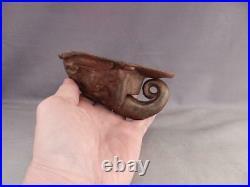 AntiqueVintage Cast Iron Figural Door KnockerCircus ElephantBronze FinishVGC