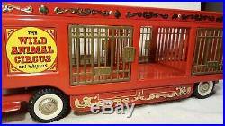Buddy L The Wild Animal Circus on Wheels Antique Trailer Toy Truck