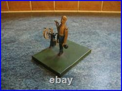 CIRCUS STRONGMAN LIVE STEAM ACCESSORY 1890's ANTIQUE TIN TOY GERMANY TINPLATE