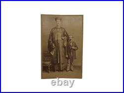 Chang, Chinese Giant, Cabinet Card, c. 1880, Acromegaly, Tall People, Freaks, Circus