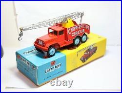 Corgi 1121 Chipperfields Circus Crane Truck In Its Original Box Near Mint 60s