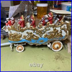Craftsman Circus Swan Band Wagon Model Kit Diecast New 1/4 O Scale