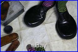 Folk Art Circus Freakshow Fairground Clown Shoes Curio Popeio Ringling Bros