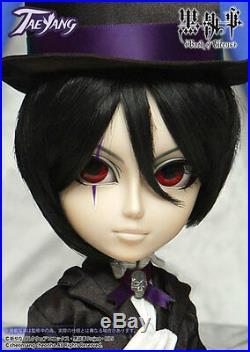 Free Shipping Sebastian TAEYANG Black Butler Book of Circus T-250 Pullip Doll