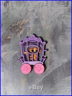 HTF Rare Vintage ZOOLERY Liddle KiddleLittle Lion Circus Wagon CageBRACELET