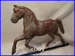 Hollow bodied Circus Horse Vane for lightning rod