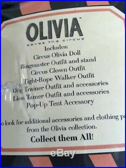 Madame Alexander 8 Doll in OLIVIA SAVES the CIRCUS SET withOutfits + Accessories