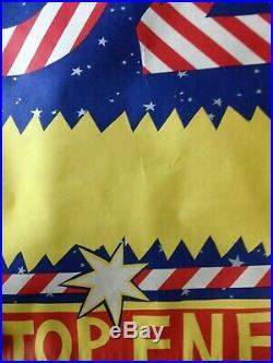 Martin Sharp Rare Circus Oz screen-print (unframed) World Famous Non-stop Energy