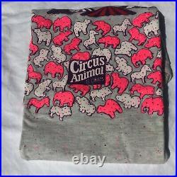 New Vintage Mothers Cookies Shirt Medium Circus Animals