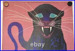 Original German Vintage Poster ZOO DRESDEN 1961