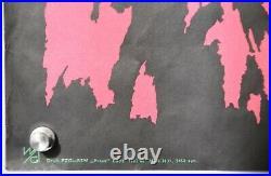 Original Polish Vintage Circus Poster CYRK Kakatue & Lions 1968