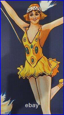 Original Vintage Ashtons circus lithograh poster. Australian