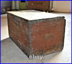 Original Vintage Happy Jack Sutton Shipping Chest Barnum and Bailey Circus