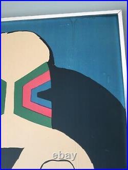 Original Vintage Poster Cieslewski Polish Cyrk Basset Hounds Dogs Circus 1966