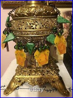 Rare Antique Bakelite Circus Theme Necklace