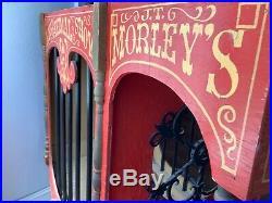 Rare! Antique Vintage Carousel Wooden Circus Animal Ride Toy LARGE