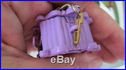 Rare Vintage Liddle Kiddle Zoolery Little Lion Circus Wagon Cage Bowtie Bracelet