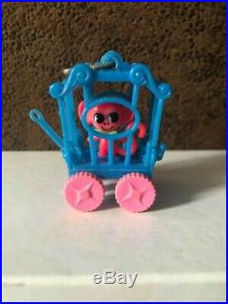 Rare Vintage Liddle Kiddle Zoolery Little Monkey Circus Wagon Cage
