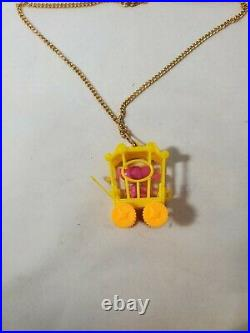 Rare Vintage Liddle Kiddle Zoolery Little Playful Panther Circus Wagon Cage 3667