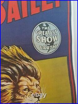 Ringling Brothers And Barnum & Bailey Antique Circus Poster