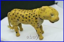 Schoenhut Antique Wooden Leopard withPainted Eyes