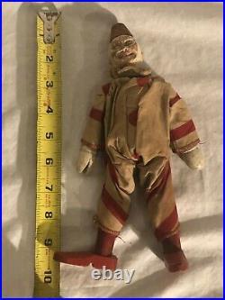 Schoenhut Circus Clown Wooden Antique Toy