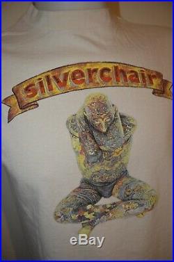 Silverchair Freak Show Circus Nirvana Grunge Punk Rock Band L T-Shirt USA 90s
