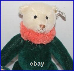 Steiff 1987 Circus Dolly Bear, Green Replica 1913, EAN 0164/32, Ltd. Ed