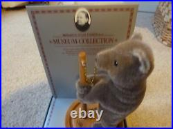 Steiff Museum Collection Roly-poly Circus Bear 1894 Signed Idb84 000165 In Box