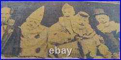 Striking Antique Circus Poster Artifact