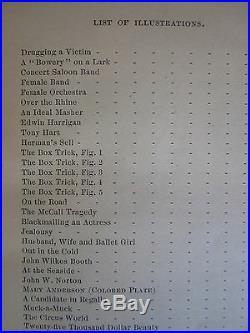 Theatrical & Circus Life Victorian Age Actor Negro Minstrel Magic Antique 1882