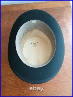 Top Hat Black Silk G. A Dunn & Co. Piccadilly Circus London Vintage with Hatbox